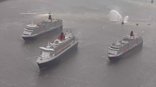 Rare sight - Three queens in same place same time