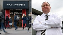 Mike Ashley vows to turn House of Fraser into 'Harrods of the High Street'