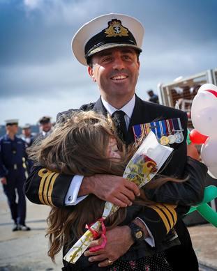HMS Sutherland homecoming