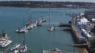 Sailor at Cowes Week has died after going overboard