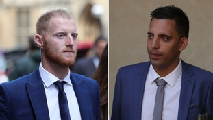 Ben Stokes and Ryan Ali both face a charge of affray.