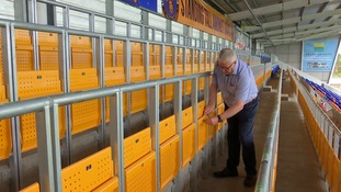 Shrewsbury have become the first club in England and Wales to introduce safe standing