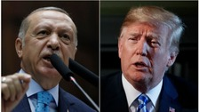 Donald Trump says US relations with Turkey are not good