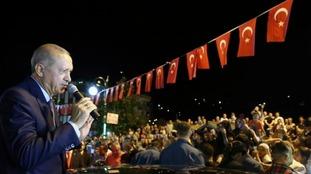 President Recep Tayyip Erdogan has a tight grip on power in Turkey