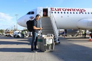 Tanami arrives in Edinburgh