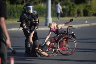 Romanian expats protest