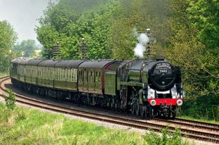 The 70013 Oliver Cromwell at the Great Central Railway, Loughborough (Rick Eborall/Great Central Railway/PA)