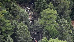 Nine dead after rescue helicopter crashes in Japan