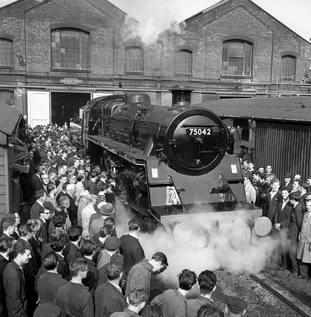 Derby rail repairs