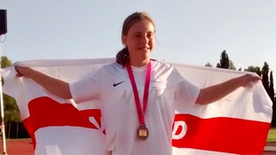 Jersey's Greenwood wins two medals at CP World Games