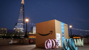 Amazon says it works 'relentlessly' to meet the expected delivery date.