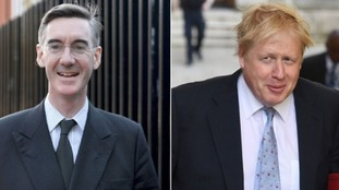 Jacob Rees-Mogg said attacks on Boris Johnson were caused by jealousy.