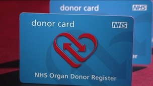 NHS Donor Cards