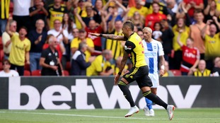 Pereyra at the double for Watford to sink Brighton