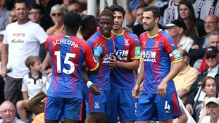 Crystal Palace impress in 2-0 win at Fulham as Zaha and Schlupp both score