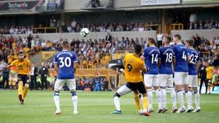 Richarlison stars as 10-man Everton draw 2-2 at Premier League new boys Wolves