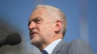 Sajid Javid suggests Jeremy Corbyn should go in row over wreath pictures