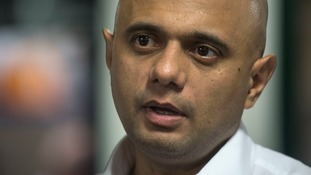 Sajid Javid's criticism comes as Jewish community leaders condemned the Labour leader.