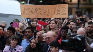 Jewish Labour voters have also come out in support of the party's leader.