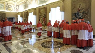 Pope resigns