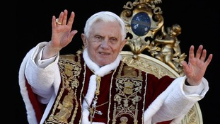 Pope Benedict XVI announces shock resignation due to his 'advanced age'