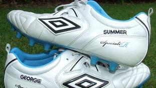 John Terry's football boots