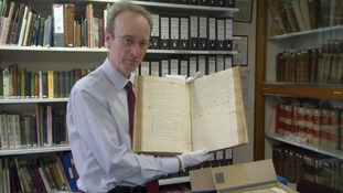Graham Roberts, archivist