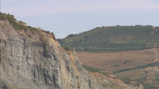People going to coast are being advised to keep away from the base of the cliffs.