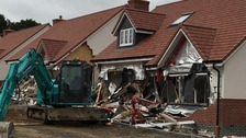 Man accused of causing £4m damage to five houses
