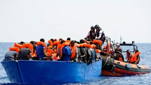 UK says it is 'deeply concerned' but not responsible for 141 rescued migrants in flag dispute