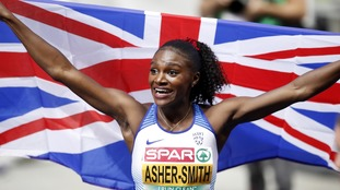 History-making Dina Asher-Smith sets sights on Tokyo Olympics after medals haul