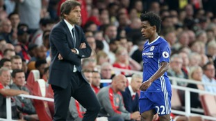 I would have left Chelsea if Conte was still boss says Willian