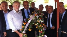 Corbyn says Netanyahu's terror wreath-laying claims are 'false'