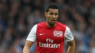 Andre Santos has played 36 games for Arsenal