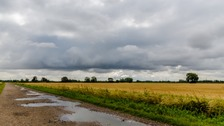 Stratocumulus over fields in Waterbeach