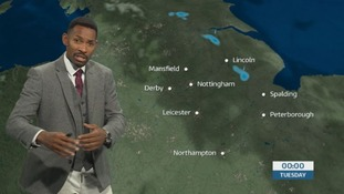 East Midlands weather: Showers dying out overnight but tomorrow will be mostly dry