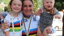 Dame Sarah Storey with kids
