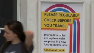 Disruption from new timetables has led to the government to veto further changes