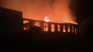 Rochdale Mill fire