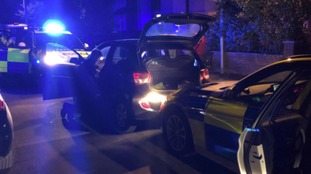 14 year old detained after police car chase