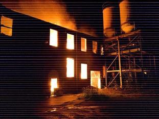 A mill fire in Greenfield Lane, Rochdale.