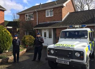 Mr Skripal's home in Salisbury remains cordoned off (Ben Mitchell/PA)
