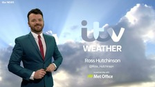 Ross Hutchinson has the latest weather