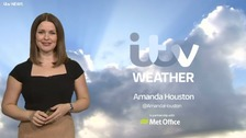 Amanda Houston has the latest weather