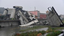 At least 22 dead after major Italy bridge collapse