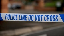 Armed police were called to reports of a man with a gun in Exeter city centre this afternoon.
