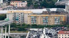 At least 25 dead after Italian bridge collapse