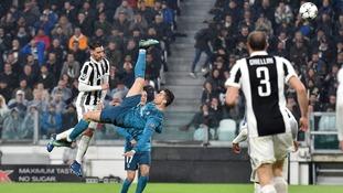 Bale's stunning overhead kick overlooked in Uefa Best Goal poll