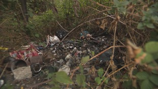 Clearing up after waste has been illegally dumped costs local authorities across the UK £57 million each year