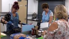 Volunteers help children suffering 'Holiday Hunger'